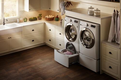 Двойная стиральная машина с горизонтальной загрузкой