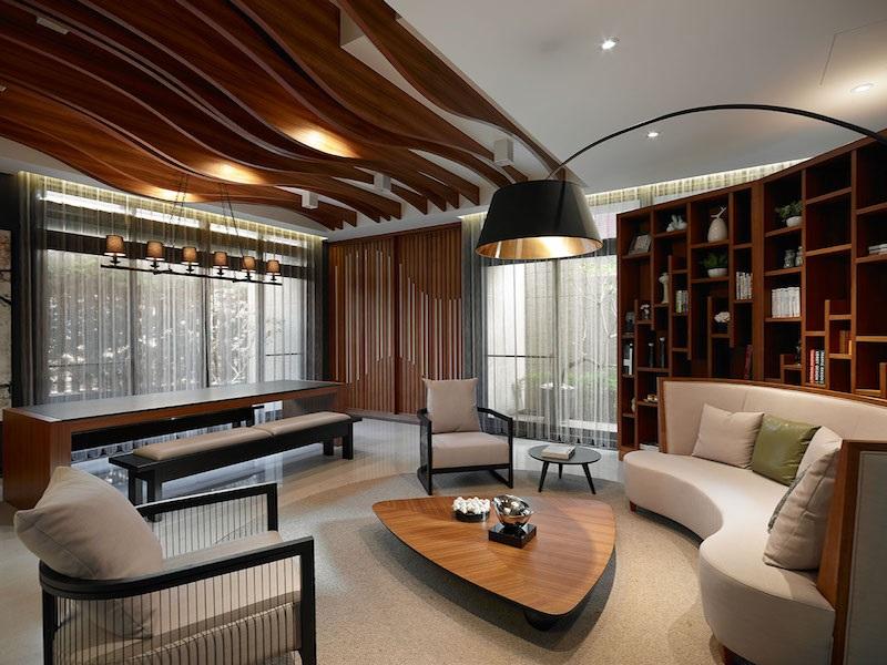 Выбирайте мебель для лаунж-зоны преимущественно из природных материалов