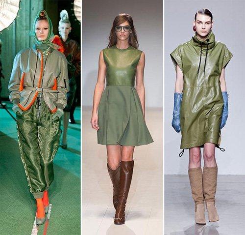 модный цвет в одежде