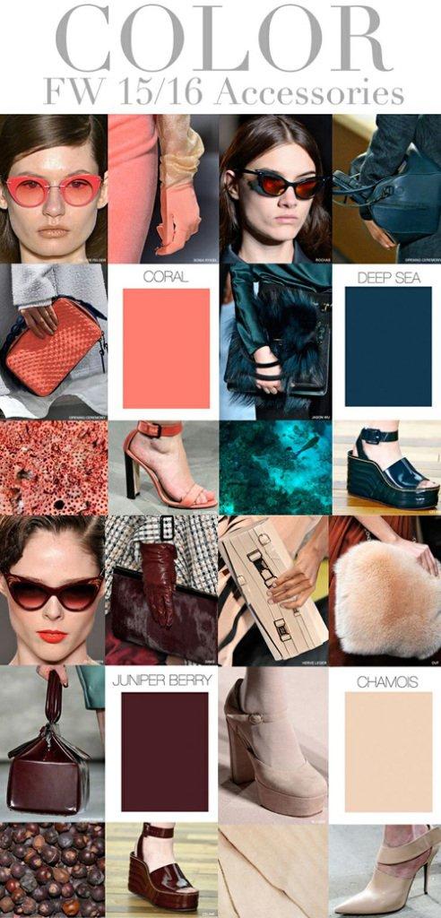 модные цвета аксессуаров