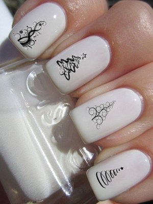 Елки на ногтях