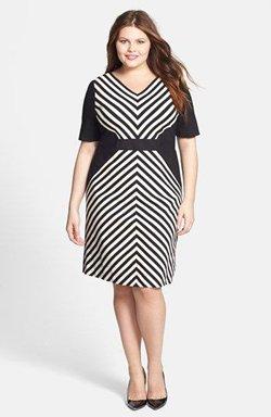 Платье для фигуры перевернутый треугольник