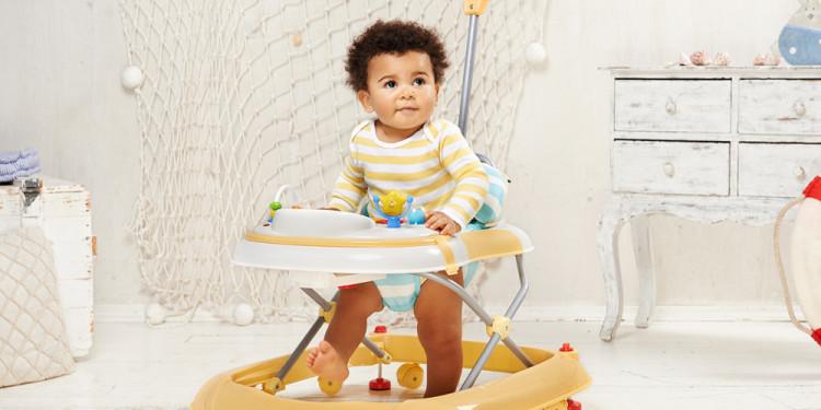 вред детских ходунков