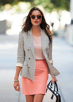 Юбка с пиджаком