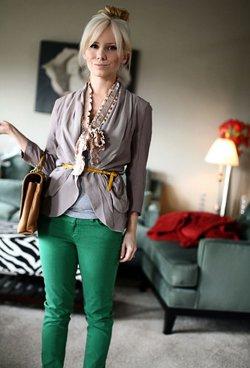 Комбинация одежды по цветам