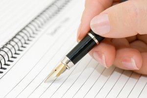 Писать в ежедневник
