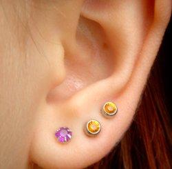 Проколотые уши