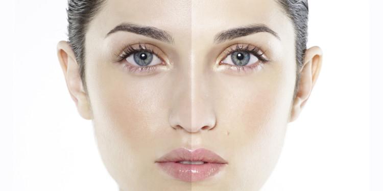 улучшение цвета кожи лица