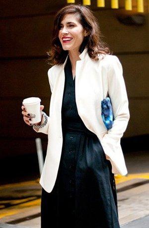 Модный образ с пиджаком