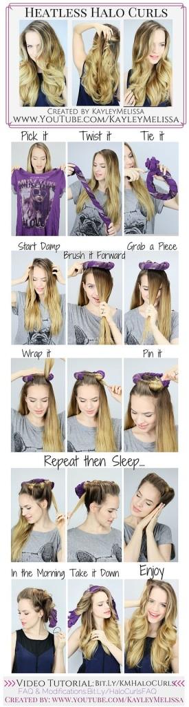 Как сделать волнистий волос
