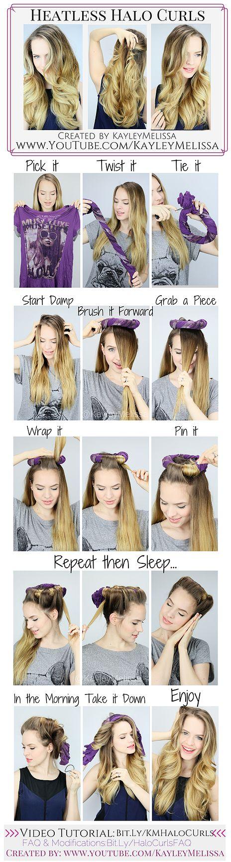 Делать волосы волнистыми
