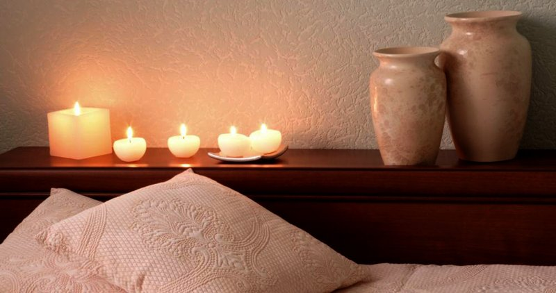 Спокойная атмосфера в спальне