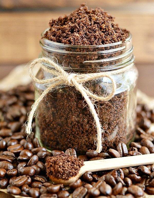 Кофейный сахарный скраб