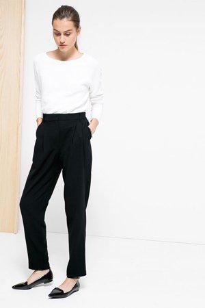 Женский лук с брюками