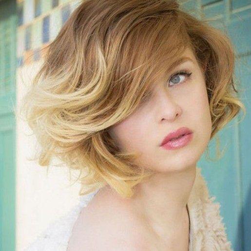 Вид окрашивния волос - шатуш