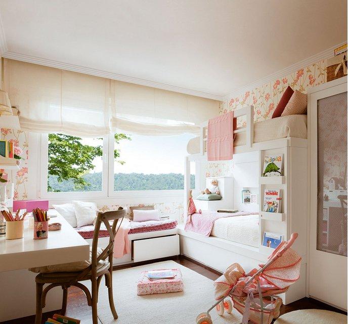 Детская комната девичья