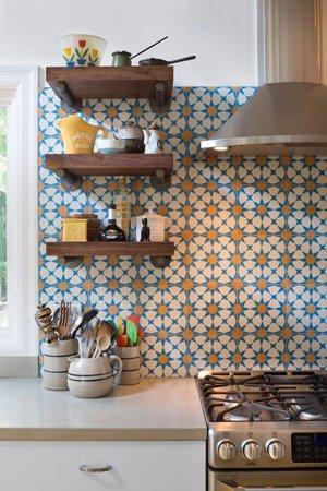 Современный интерьер кухни в восточном стиле