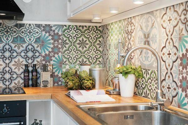 Интерьер марокканского стиля кухни