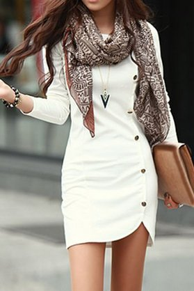 Платье для невысоких девушек