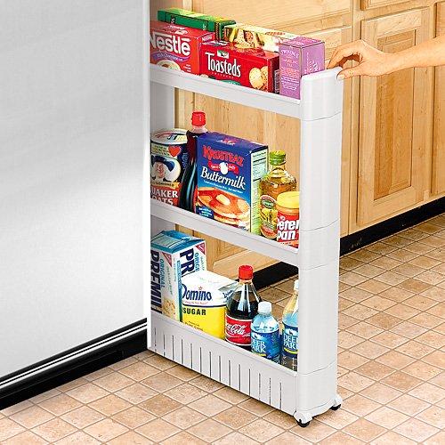 Идея хранения продуктов в выдвижном ящике