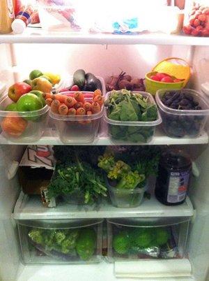 Идея порядка в холодильнике
