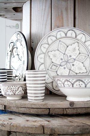 Марокканская столовая посуда