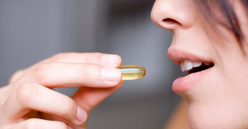 Принимать витамин е