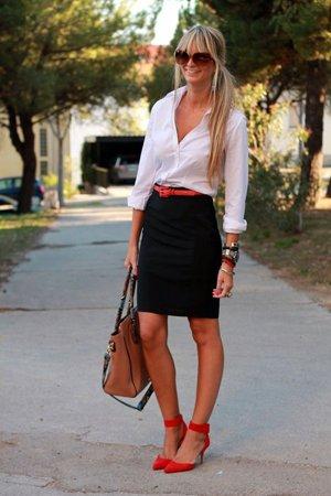 Классический наряд с рубашкой