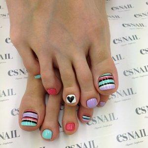 Педикюр дизайн ногтей