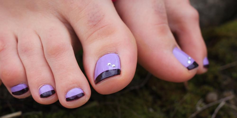 Дизайн ногтей педикюр