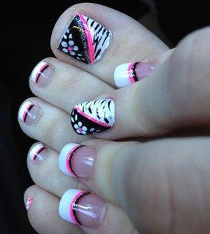 Красивые узоры на ногтях