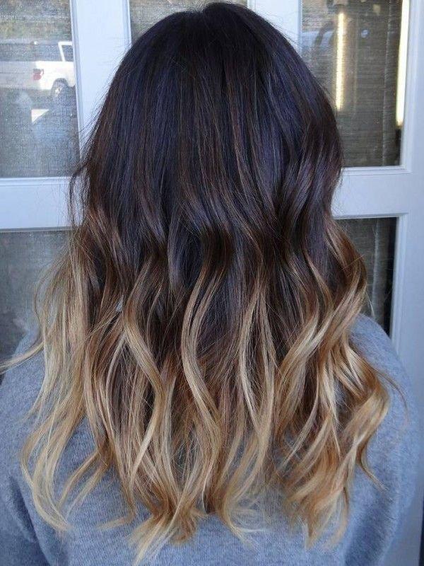 Омбре на мелированные волосы - 3