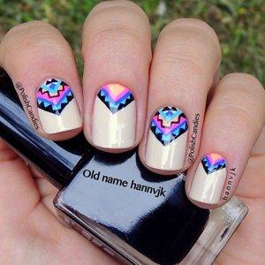 Оригинальные узоры на ногтях