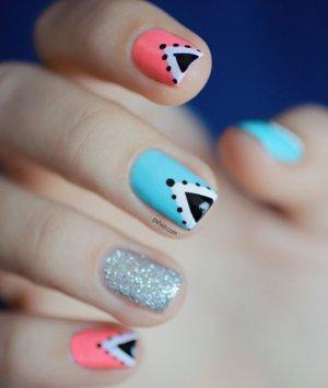 Шеллак на ногтях