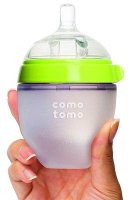 Comotomo бутылочка для новорожденных