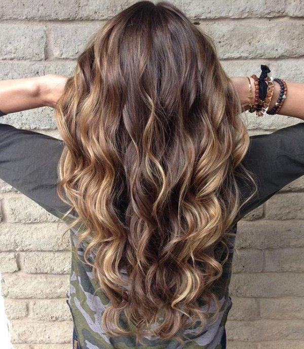 Балаяж на мелированные волосы - e4c78