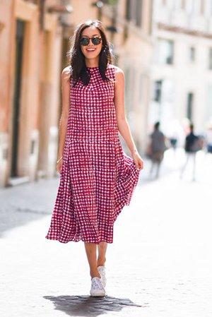 Модный комплект одежды