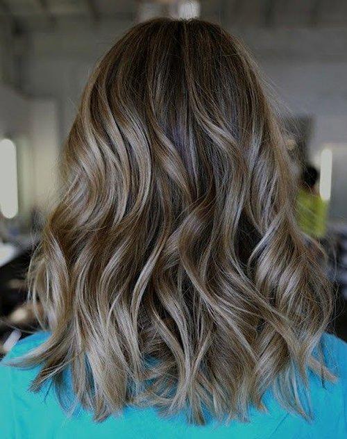 Пепельно-русый цвет волос
