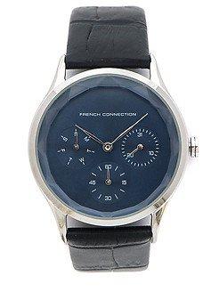 Наручные часы с черным ремешком