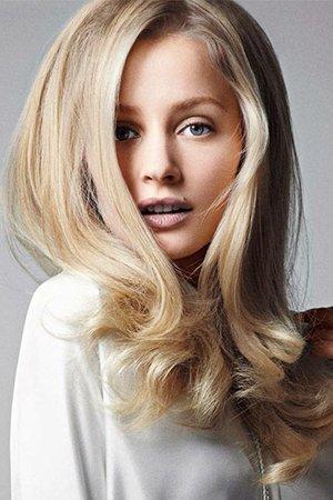 Окрашивание 3 д для блондинок