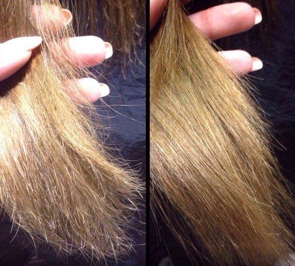 Мумие против ломкости волос