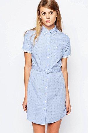 Классическое платье-рубашка