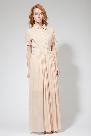 Женственное платье рубашка