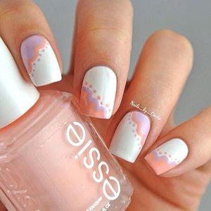 Дизайн ногтей в пастельных тонах