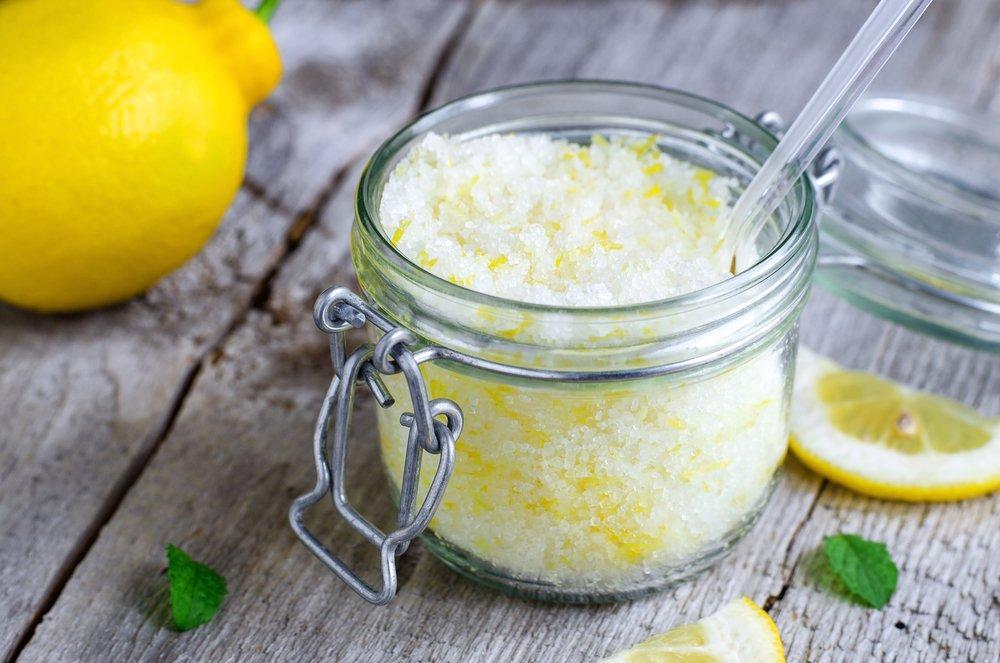 Скраб с лимоном