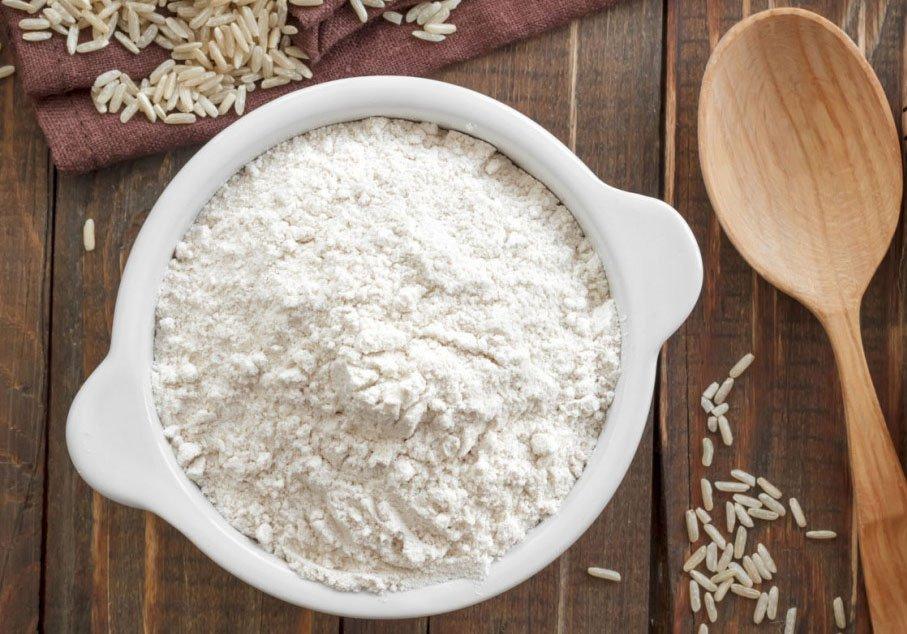 Скраб с рисовой мукой