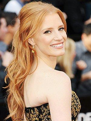 Золотисто-рыжий цвет волос