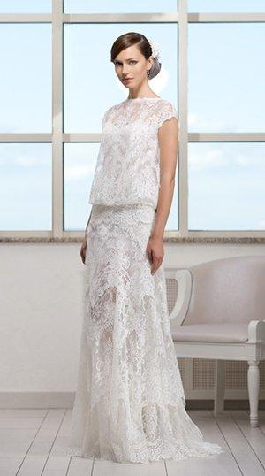 Свадебное платье в стиле Арт