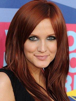 Фото рыжего цвета волос