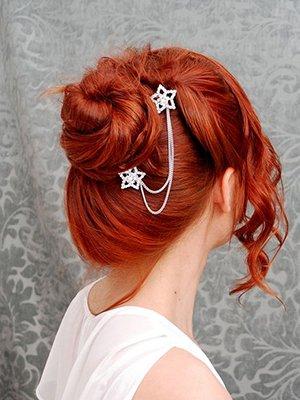 Палитра рыжего цвета волос